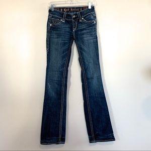 Rock Revival Debbie Boot Flap Pocket Jeans 25